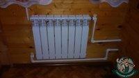 Подключение биметаллического радиатора отопления