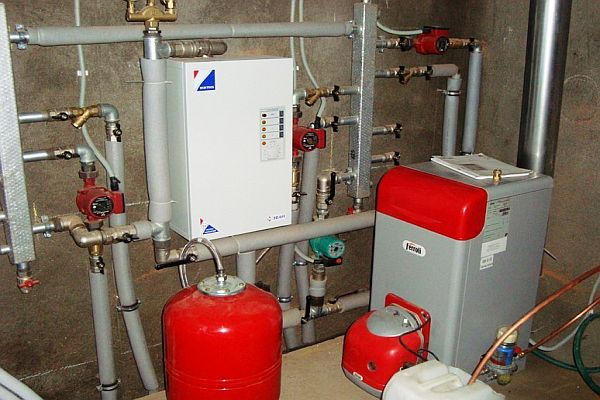 Газовые котлы для отопления частного дома напольные