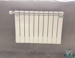 Монтаж биметаллического радиатора отопления Сантехпром